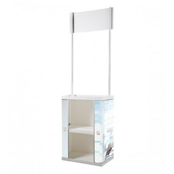 "Tabouret bas lumineux ""Cubo Out 40 - LED RGB"" sans fil"
