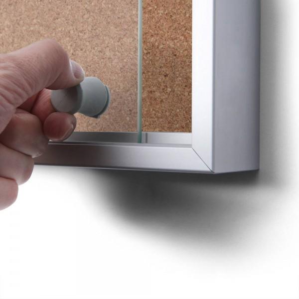 Opti cadre aluminium, onglet 32mm