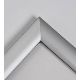 Cadre clic-clac étanche, finition aluminium