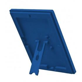 Opti Frame Blau mit Rückenstütze, A4, A5 oder A6