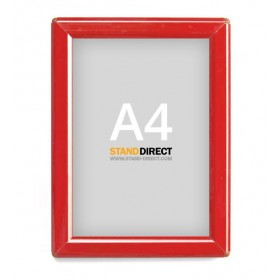 Cadre Opti Frame Red - A4 (21 x 29,7cm) - Rouge