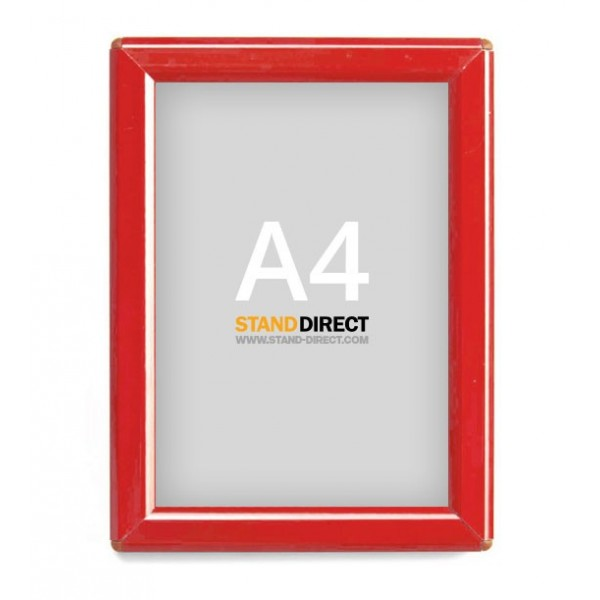 A4 Rahmen Opti Frame Rot