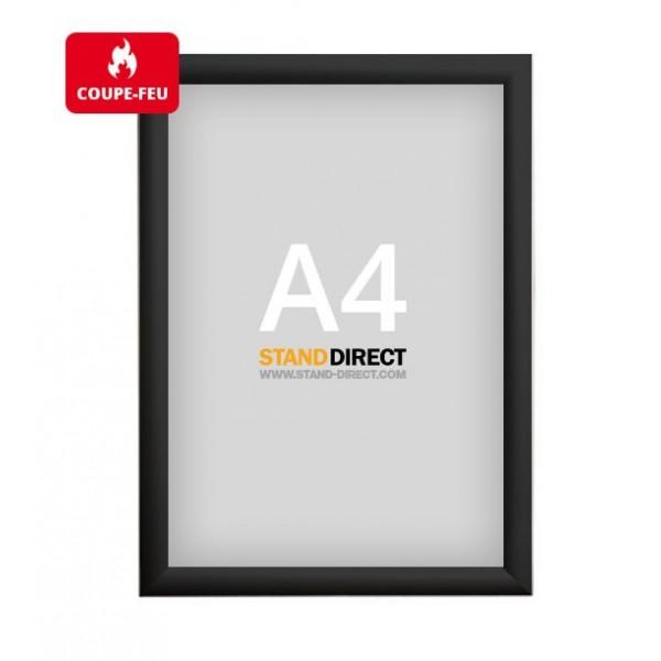 A4 Kliklijst brandwerend - Zwart