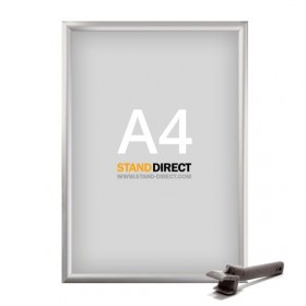 Cadre sécurisé pour lieux publics - A4 (21 x 29,7cm) - Aluminium anodisé