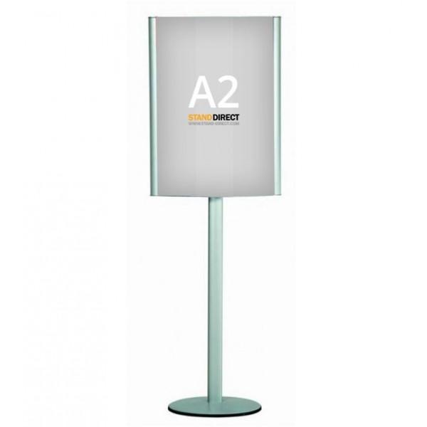 Porte-affiches double face sur pied (A2)