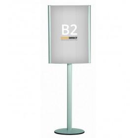 Plakatständer Doppelseitig (A1, A2 oder B2) - B2 (50 x 70,7cm)