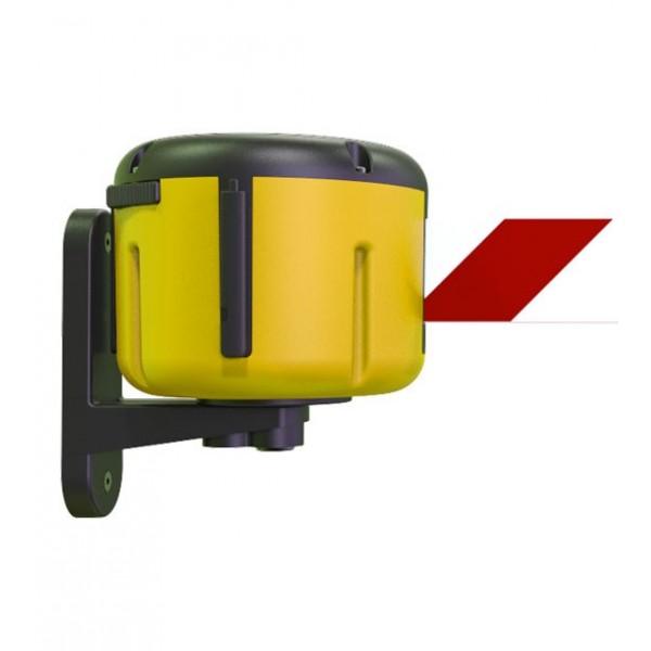 Enrouleur mural jaune avec sangle 7 ou 10m