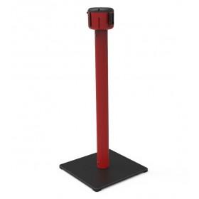 Gurtpfosten 7m oder 10m - Rot