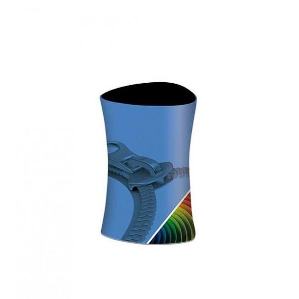 Comptoir triangulaire tissu