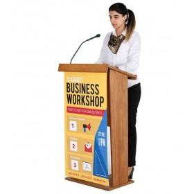 Houten spreekgestoelte - ideaal voor uw evenementen
