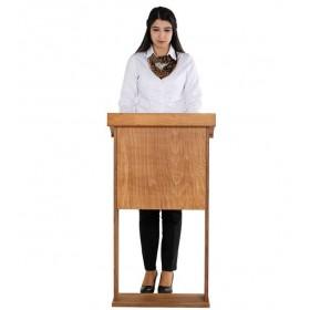 Lessenaar, houten afwerking, mogelijkheid om aan te passen