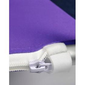 Impression sur tissu supplémentaire pour mur de fond courbé (3m, 4m, 5m ou 6m)