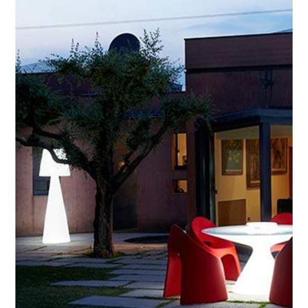 Grand luminaire sur pied (2m) - Pivot, idéal pour terrasse de restaurant ou hotel
