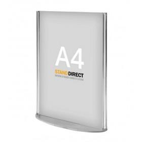 Présentoir de table (plexiglas) - A4 (21 x 29,7cm)
