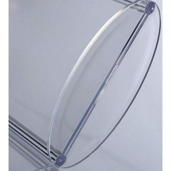 Tafelhouder van doorzichtig plexiglas