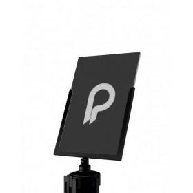 porte-affiche A4 portrait pour poteau de balisage