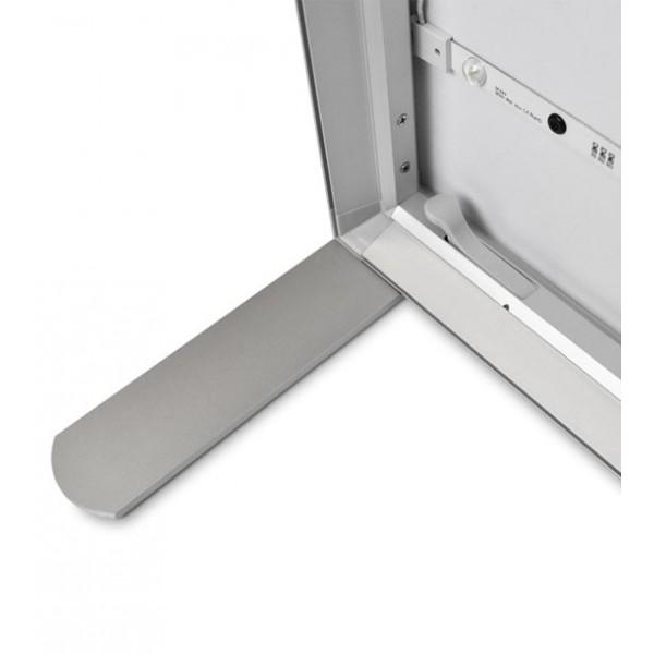 Frame met aluminium structuur