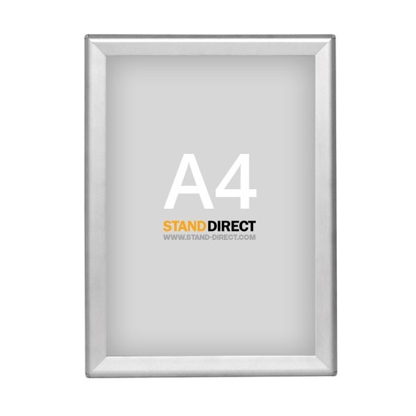 Cadre clic-clac OptiFrame (Aluminium) A4