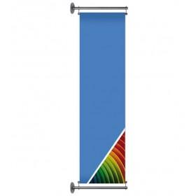Banner für Wandmontage - 80x300cm