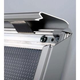 Klapprahmen mit abgerundete Ecken, natürliche Aluminium-Fertigung