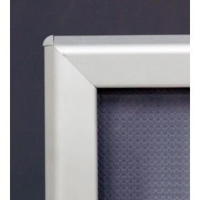 Cadre clic-clac OptiFrame (Aluminium) - A4 (21 x 29,7cm) - Aluminium anodisé