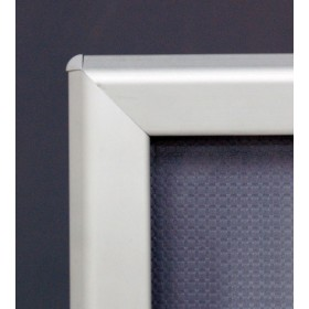 OptiFrame Alu Klapprahmen - A3 - Eloxiertes Aluminium