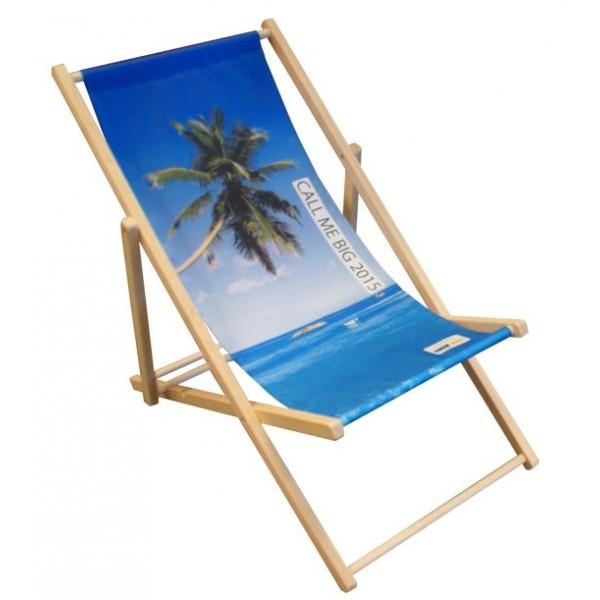 Personalisierter Strandstuhl