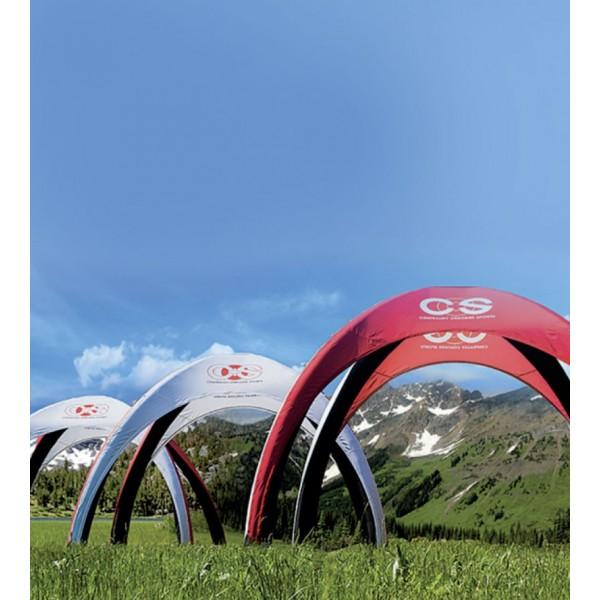 Tentes gonflables événementielles personnalisées