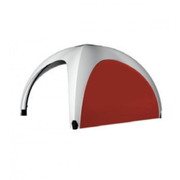 Rückwand für aufblasbares Zelt