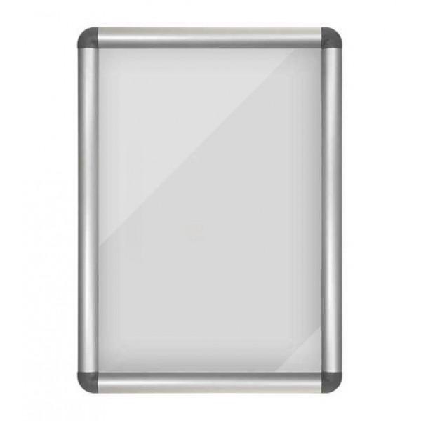 Kliklijst 25 of 32mm, aluminium afwerking