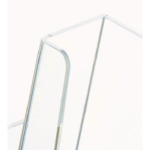 Broschürenhalter aus durchsichtiges Plexiglas