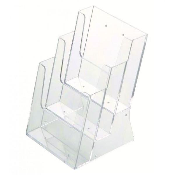 Prospektständer aus Plexiglas für Flyers