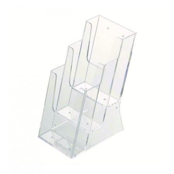 Tischprospektständer mit mehrere Fächer
