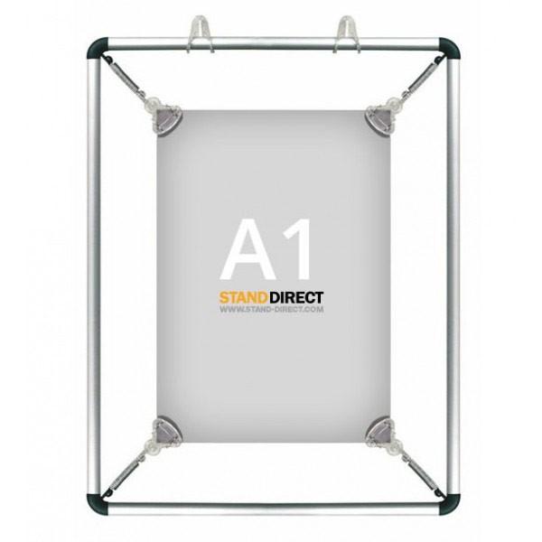 A1 Poster stretcher op te hangen