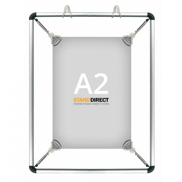 A2 Poster stretcher op te hangen