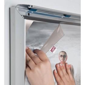 Mise en place d'une affiche sur la dalle de LEDs