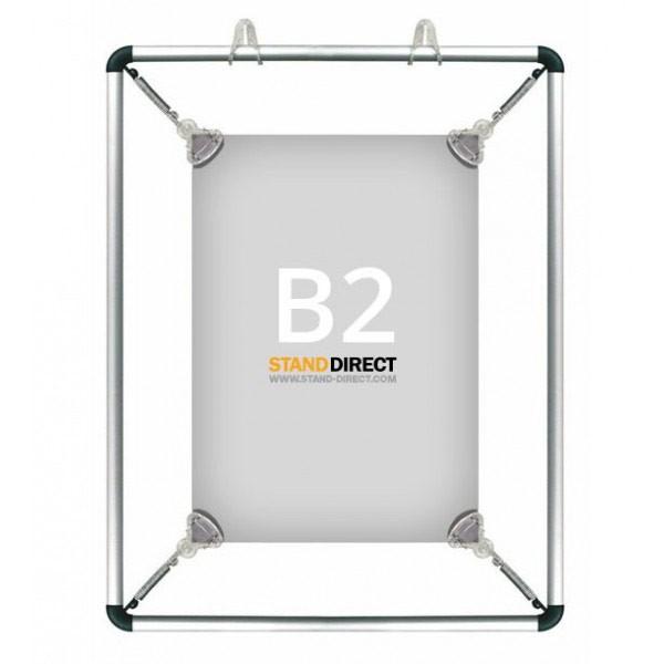 B2 Poster stretcher op te hangen