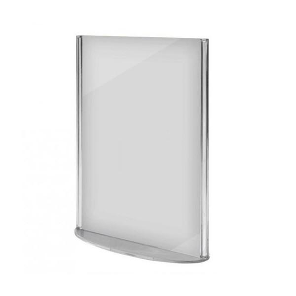 Présentoir de table (plexiglas), idéal pour menus
