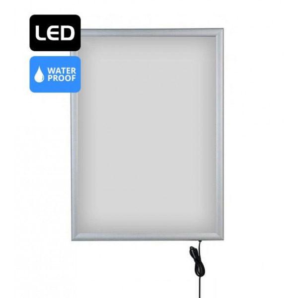 Cadre LED lumineux extérieur A4