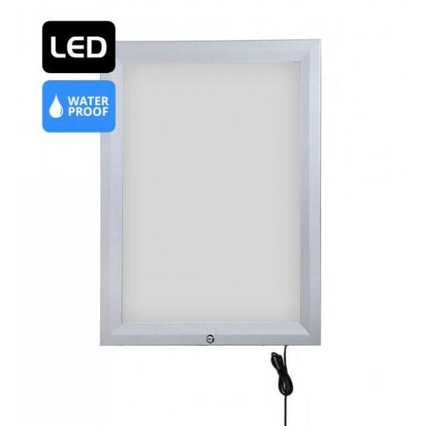 Cadre LED verrouillable et étanche