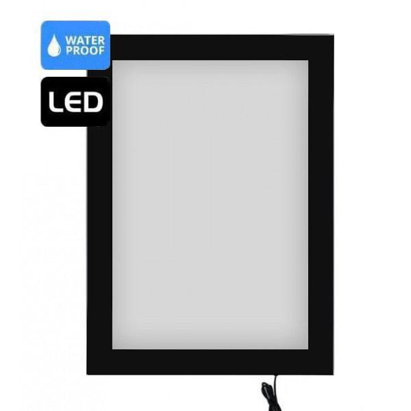 Vitrine d'affichage LED extérieur verrouillable