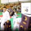 Pouf puzzle imprimé pour enfants (Judo)