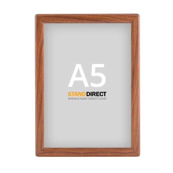 A5 Klapprahmen OptiFrame Holz
