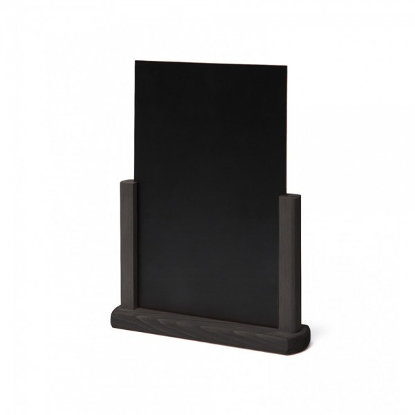 Tafelkrijtbord zwart hout