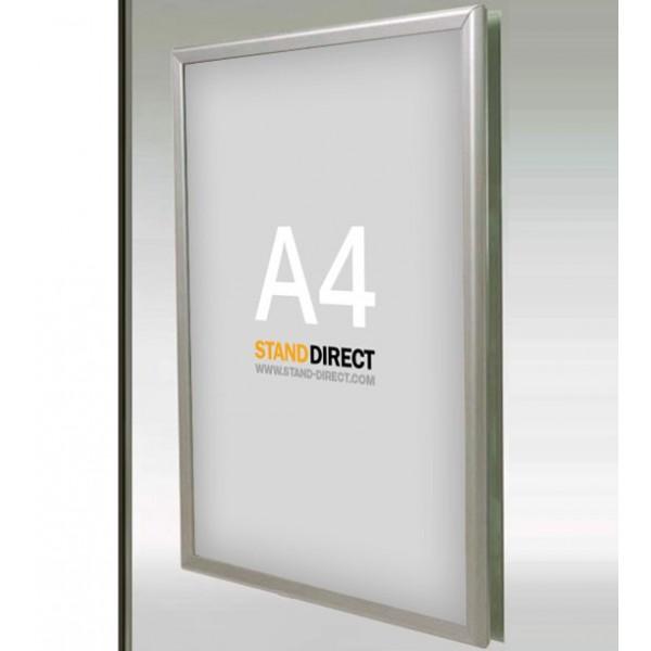 Cadre d'affichage vitrine, profilé 25 ou 35mm, format A4
