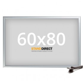 Kliklijst Security Autobord, profiel 42mm - 60x80cm
