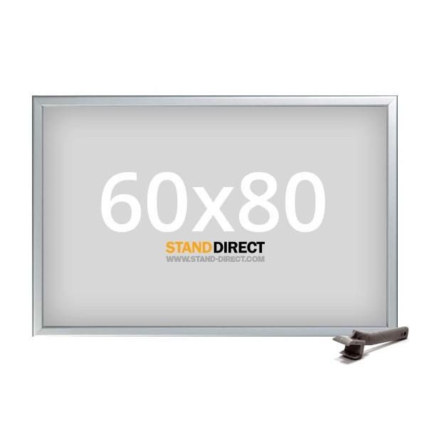 60x80 Kliklijst Security Autobord, profiel 42mm