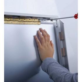 Klapprahmen mit breitem Aluminium-Sicherheitsprofil (42mm), 100% wasserdicht