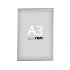 Cadre clippant aluminium - A3 (29,7 x 42cm)