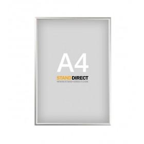 Cadre clippant aluminium - A4 (21 x 29,7cm)